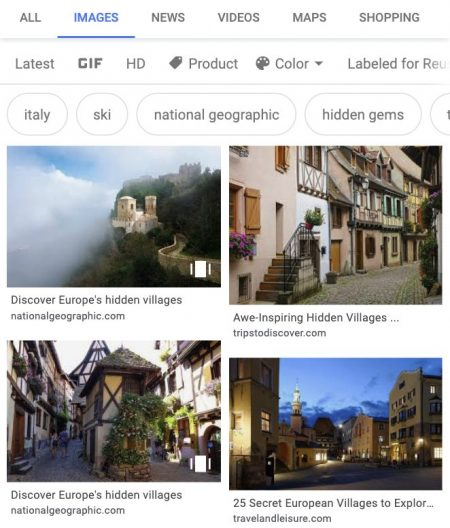 web story google imagenes