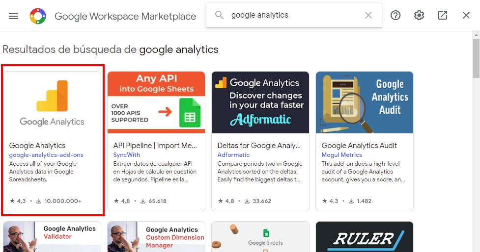 google-analytics-para-google-sheets